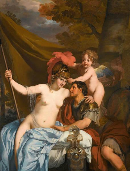 Odysseus Painting - Odysseus And Calypso by Gerard de Lairesse