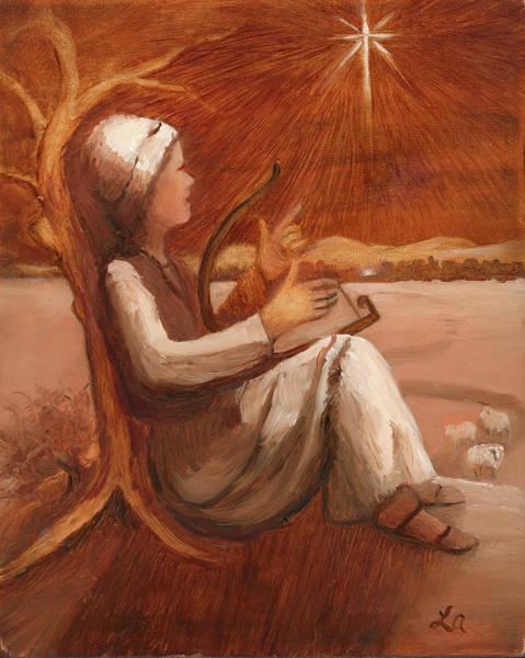 Painting - Oh Bethlehem by Linda Anderson