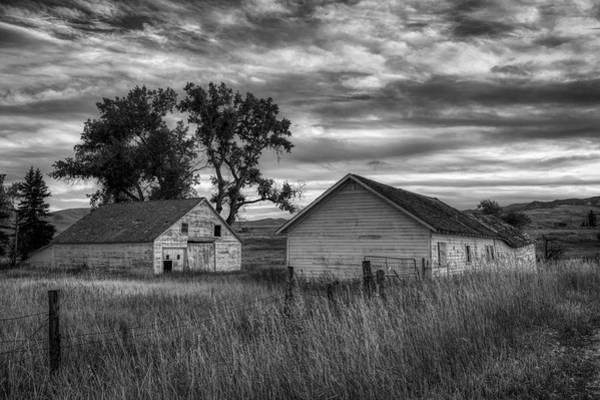 Wall Art - Photograph - Old Barns In Wyoming by Mountain Dreams