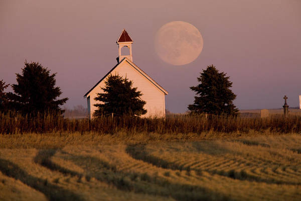 Wall Art - Photograph - Old Country Church by Mark Duffy