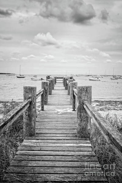 Photograph - Old Dock Hyannis Port Cape Cod Ma by Edward Fielding