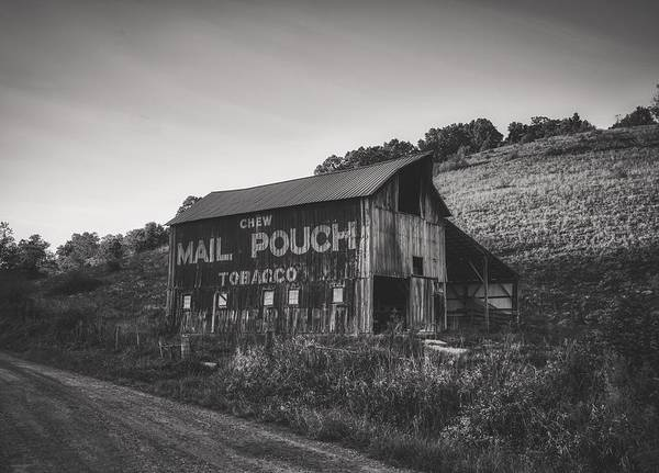 Wall Art - Photograph - Old Mail Pouch Barn In Ohio by Mountain Dreams