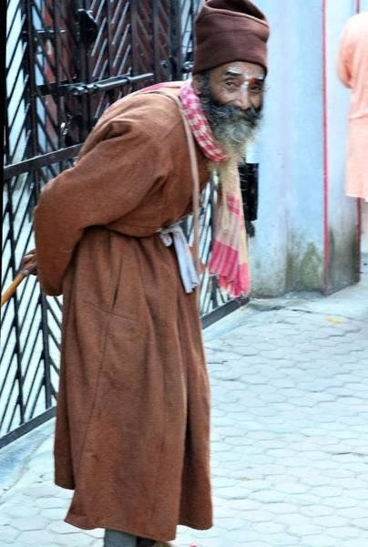 Photograph - Old Sadhu by Kim Bemis