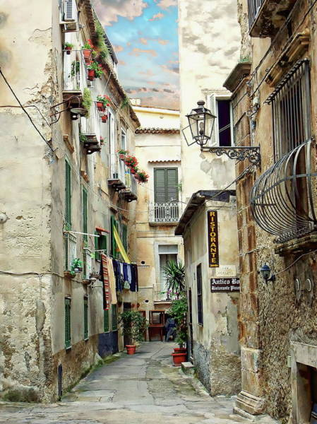 Photograph - Old Town Of Tropea by Anthony Dezenzio