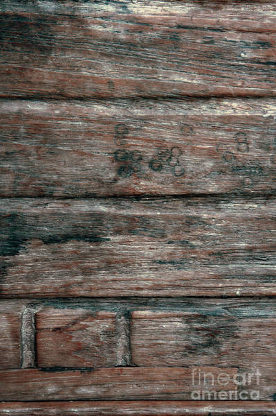 Wall Art - Photograph - Old Wood Background by Tom Gowanlock