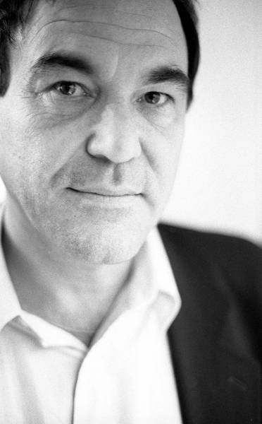 Photograph - Oliver Stone London 1994 by Martyn Goodacre