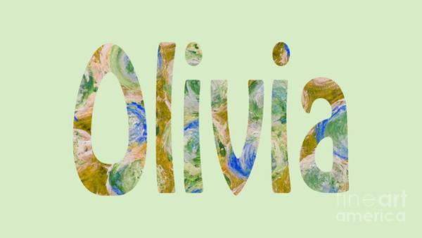 Digital Art - Olivia by Corinne Carroll