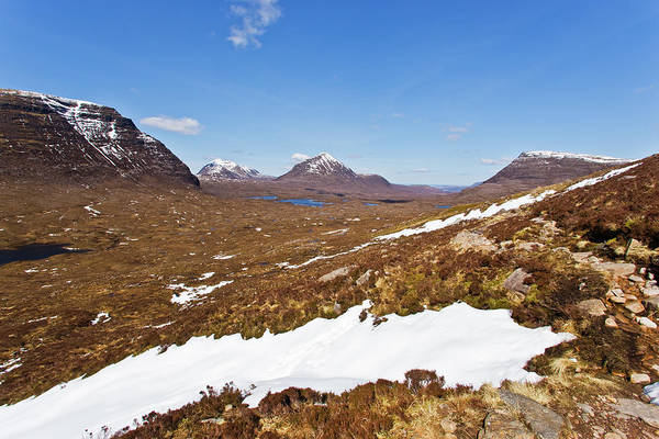 Wall Art - Photograph - On The Trail To The Beinn Eighe Mountain by Maremagnum