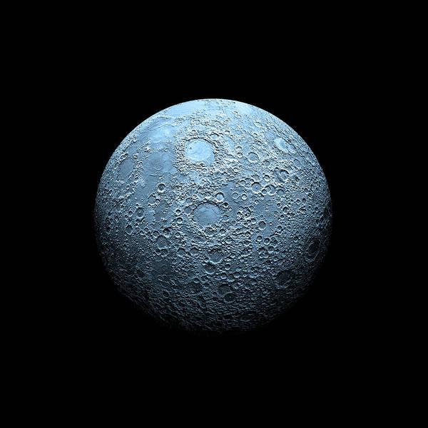 Digital Art - Once In A Blue Moon by Marc Ward