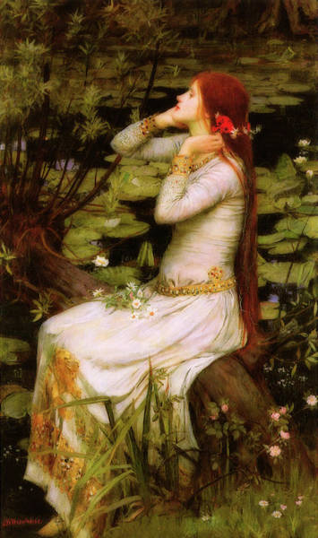 Ophelia Painting - Ophelia by John William Waterhouse