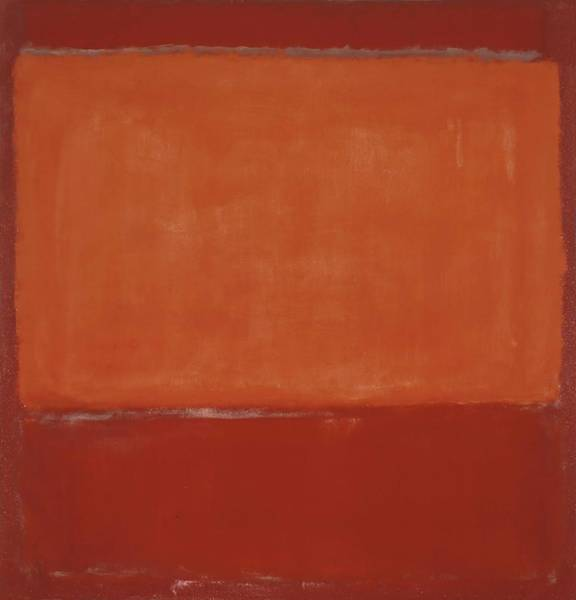 Wall Art - Painting - Orange And Red On Red  by Mark Rothko