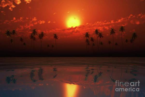Wall Art - Photograph - Orange Clouds Over Coconut Island by Aleksey Tugolukov