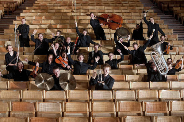 Wall Art - Photograph - Orchestra, Musicians by Ben Edwards