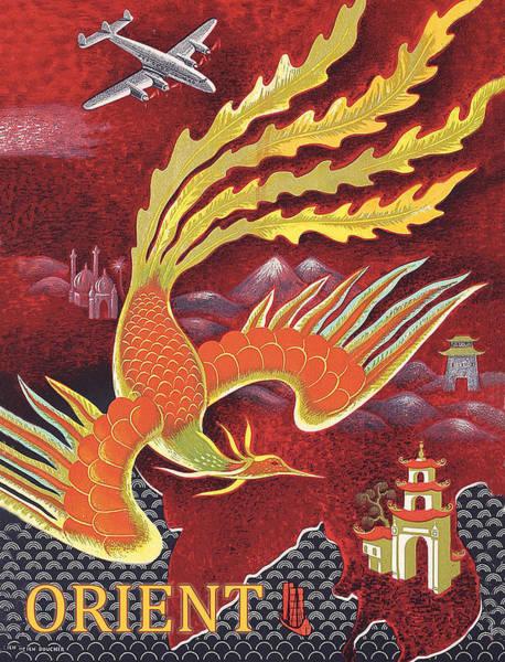 Wall Art - Digital Art - Orient by Long Shot