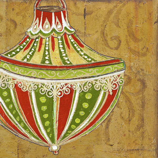 Bulbs Painting - Ornament I by Patricia Pinto
