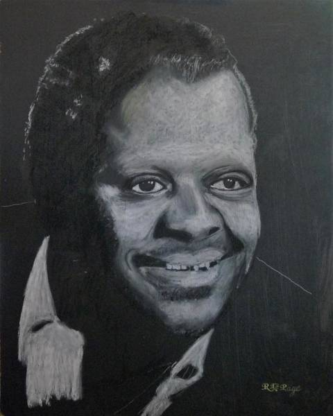 Pastel - Oscar Peterson by Richard Le Page