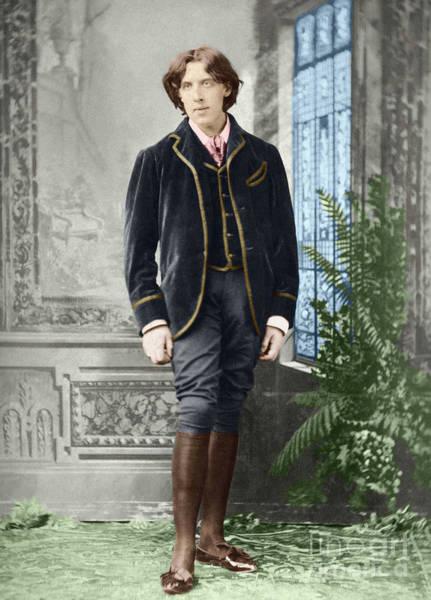 Wall Art - Photograph - Oscar Wilde  Around 1882 By Napoleon Sarony by Napoleon Sarony