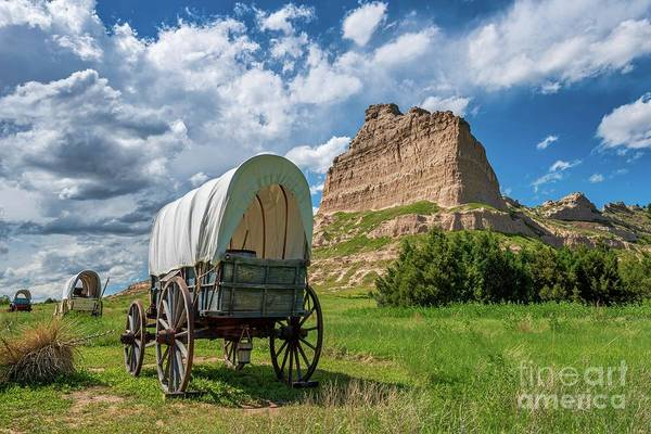 Wall Art - Photograph - Out On The Oregon Trail by Christopher Thomas