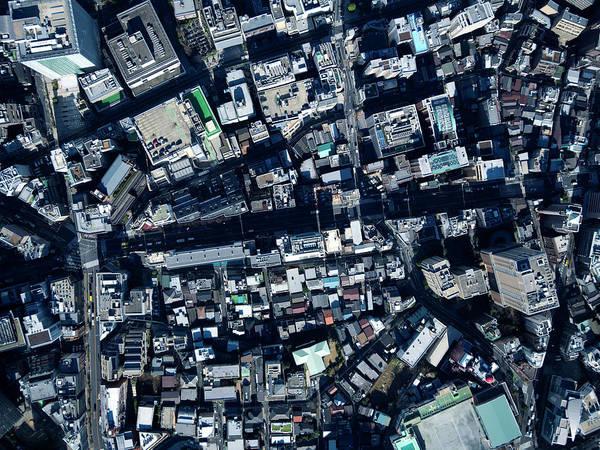 Ginza Wall Art - Photograph - Overlooking Tokyo by Kokouu