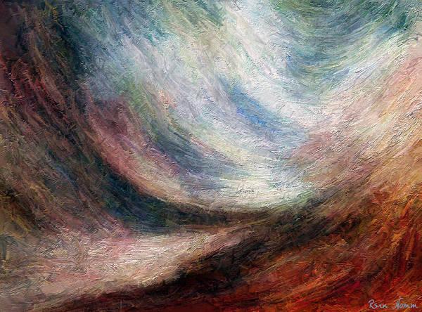 Digital Art - Overwhelmed  by Rein Nomm