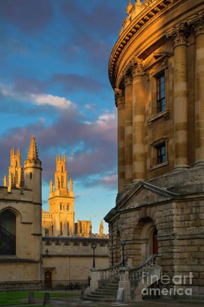 Photograph - Oxford Evening by Brian Jannsen