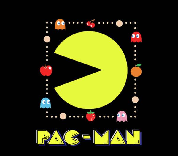 Wall Art - Digital Art - Pac Man by Geek N Rock