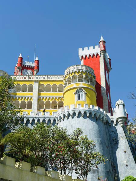 Iberian Peninsula Wall Art - Photograph - Palacio Nacional Da Pena In Sintra by Martin Zwick