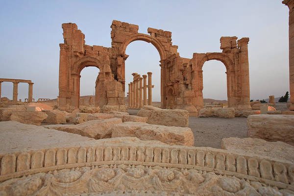 Damascus Photograph - Palmyra Ruins, Syria by Michele Falzone