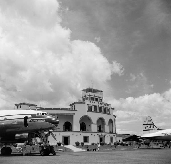 Salvador Photograph - Pan American Airways Dc-4 Clipper by Michael Ochs Archives