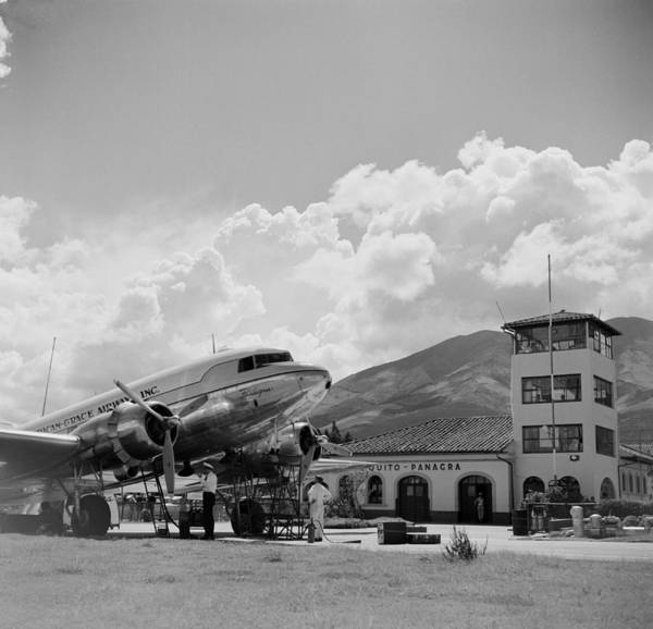Ecuador Wall Art - Photograph - Pan American Grace Airways by Michael Ochs Archives