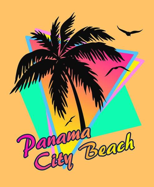 Wall Art - Digital Art - Panama City Beach by Filip Hellman