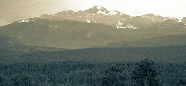Photograph - panoramic view of Rocky Mountains by Kyle Lee