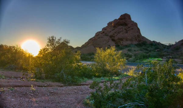 Photograph - Papago Park Sunset by Ants Drone Photography