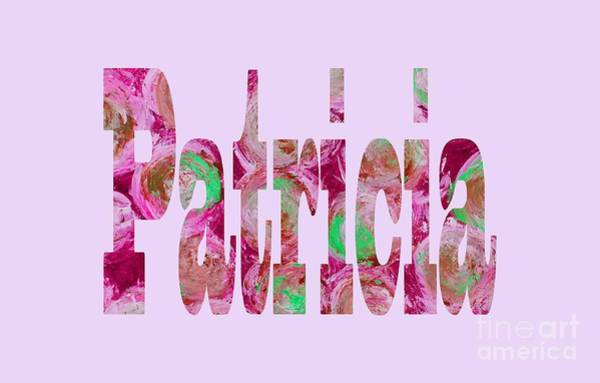 Digital Art - Patricia by Corinne Carroll