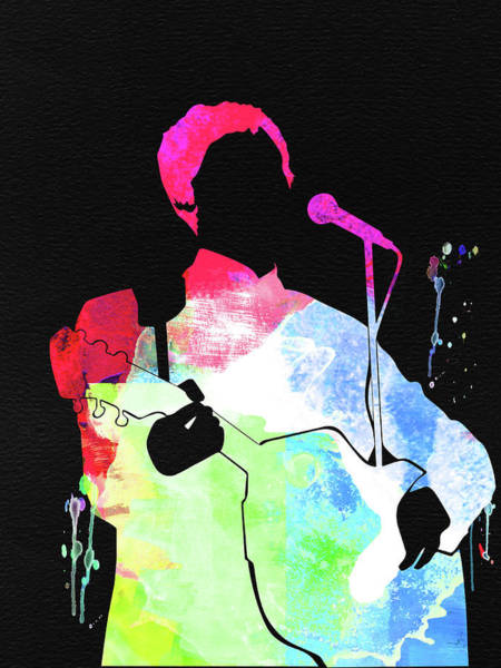 Insect Mixed Media - Paul Mccartney Watercolor by Naxart Studio