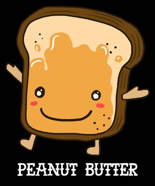 Trick Or Treat Digital Art - Peanut Butter Halloween Costume Funny Apparel by Michael S