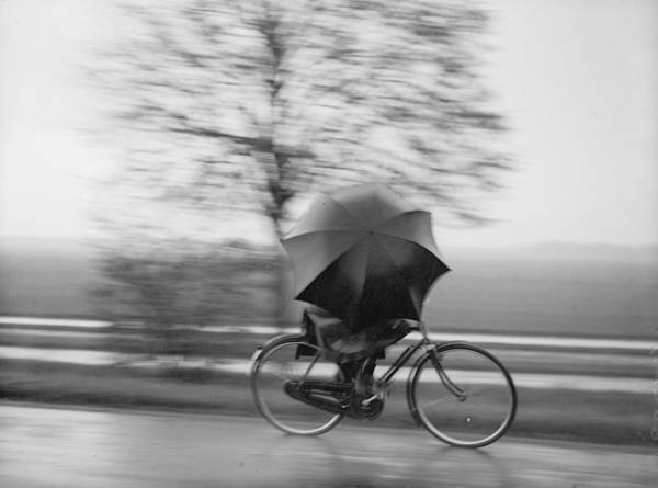 Determination Photograph - Pedal Power by Fox Photos