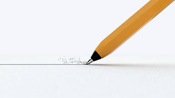 Wall Art - Digital Art - Pen Drawing Line by Allan Swart