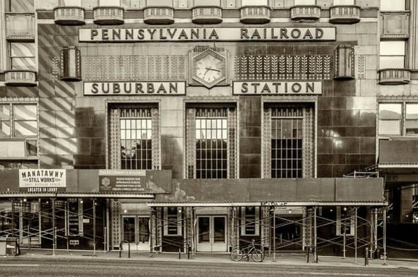 Wall Art - Photograph - Pennsylvania Railroad - Suburban Station - Philadelphia by Bill Cannon