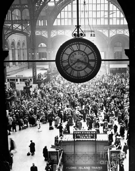 Wall Art - Photograph - Pennsylvania Station In New York City by New York Daily News Archive