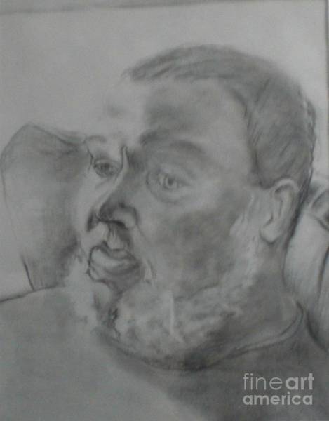 Drawing - Perry by Linda Anderson