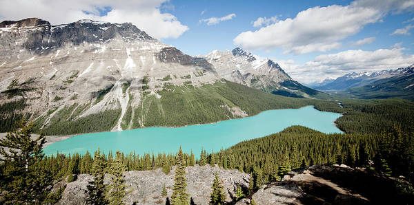 Peyto Lake Wall Art - Photograph - Peyto Lake by Obliot