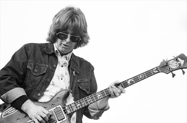 Phil Lesh Photograph - Phil Lesh Grateful Dead Live by Ed Perlstein