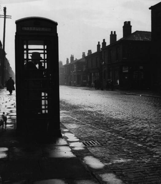 Phone Booth Photograph - Phone Home by Three Lions