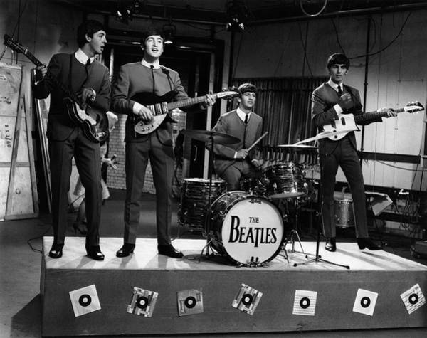 Photograph - Photo Of Beatles And John Lennon And by David Redfern