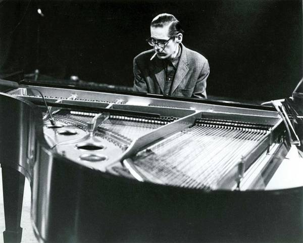 Music Photograph - Photo Of Bill Evans Piano by David Redfern