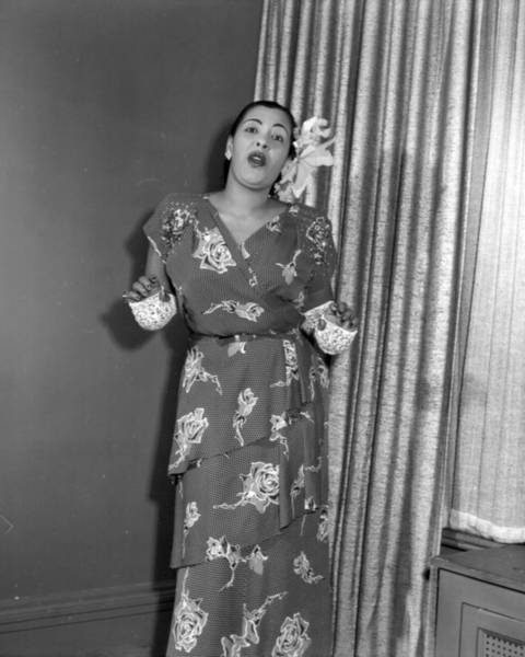 Photograph - Photo Of Billie Holiday by Michael Ochs Archives