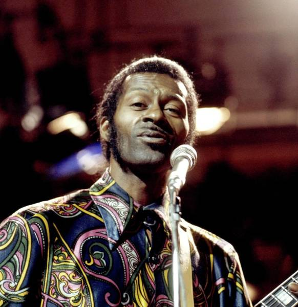 Photograph - Photo Of Chuck Berry by David Redfern