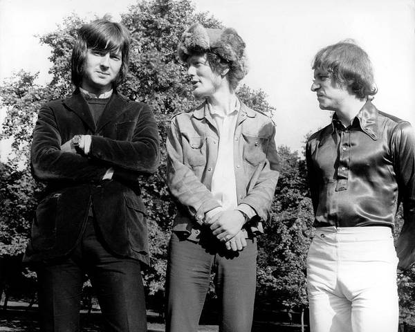 Photograph - Photo Of Cream And Jack Bruce And by David Redfern