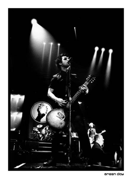 Green Day Photograph - Photo Of Green Day by Stephen Albanese